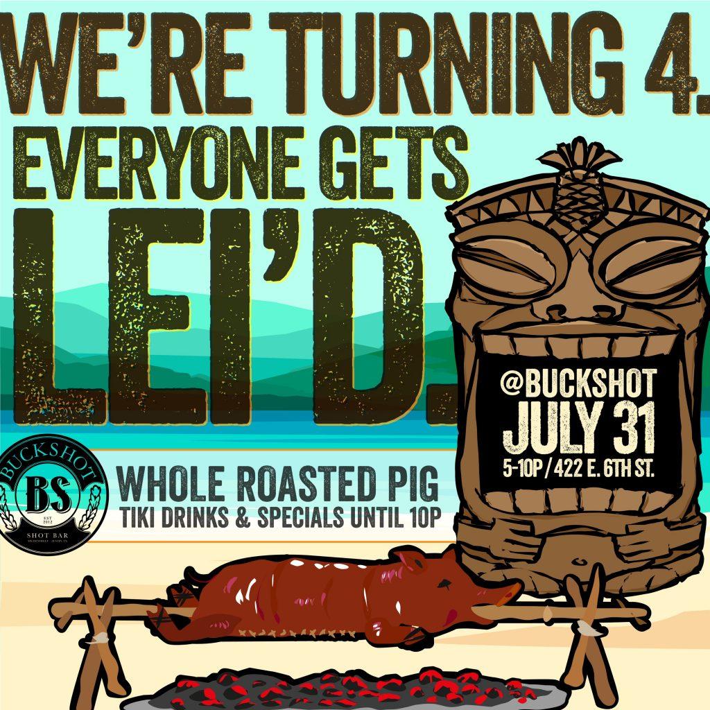 Buckshot 4th Anniversary