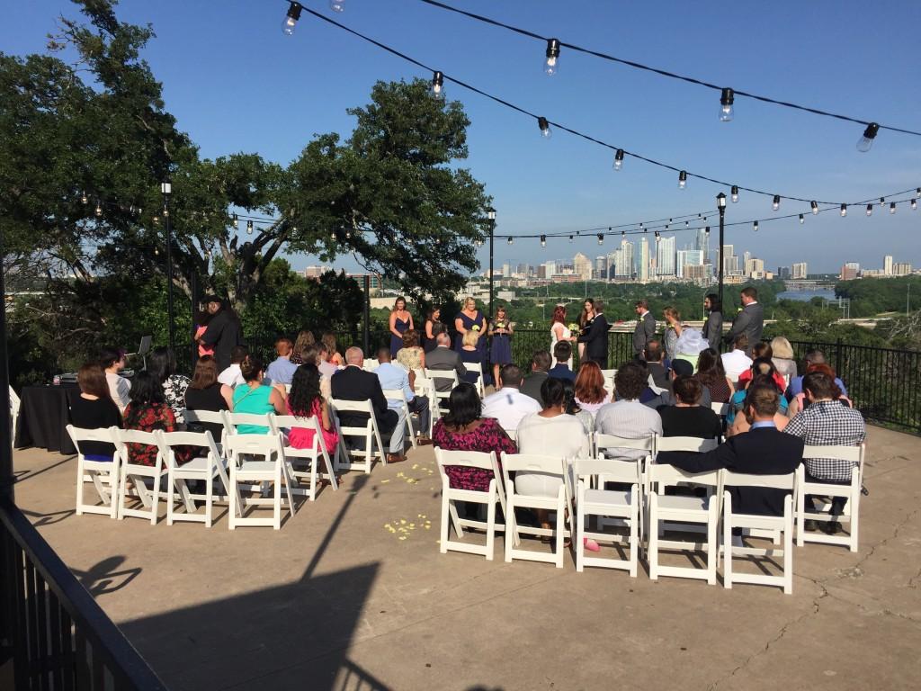 Zilker Park Clubhouse Wedding